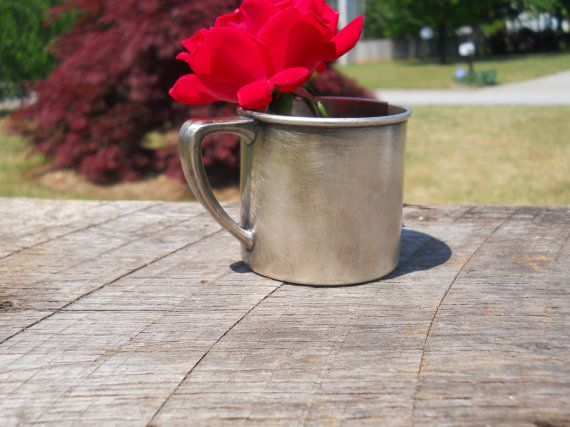 Silver Baby Cup/ Community Silver Plated by SouthernBarnDesigns, $22.00