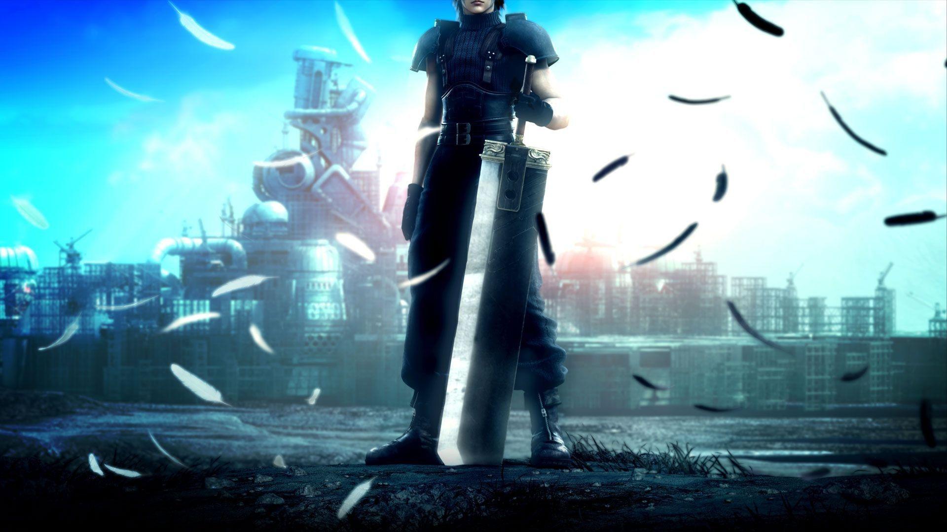 Crisis Core Final Fantasy Crisis Core Final Fantasy Cloud Final Fantasy Wallpaper Hd
