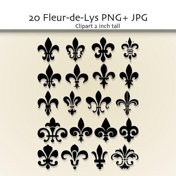 frrench free clip art | Black and White Fleur De Lis Outline ...