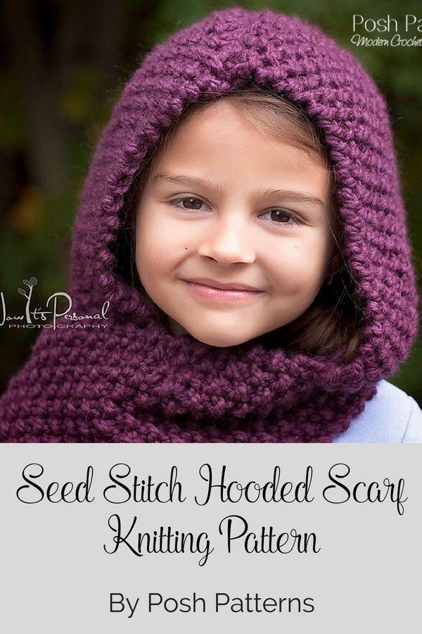 Knitting Pattern Knit Hooded Cowl Knitting Patterns Knitting