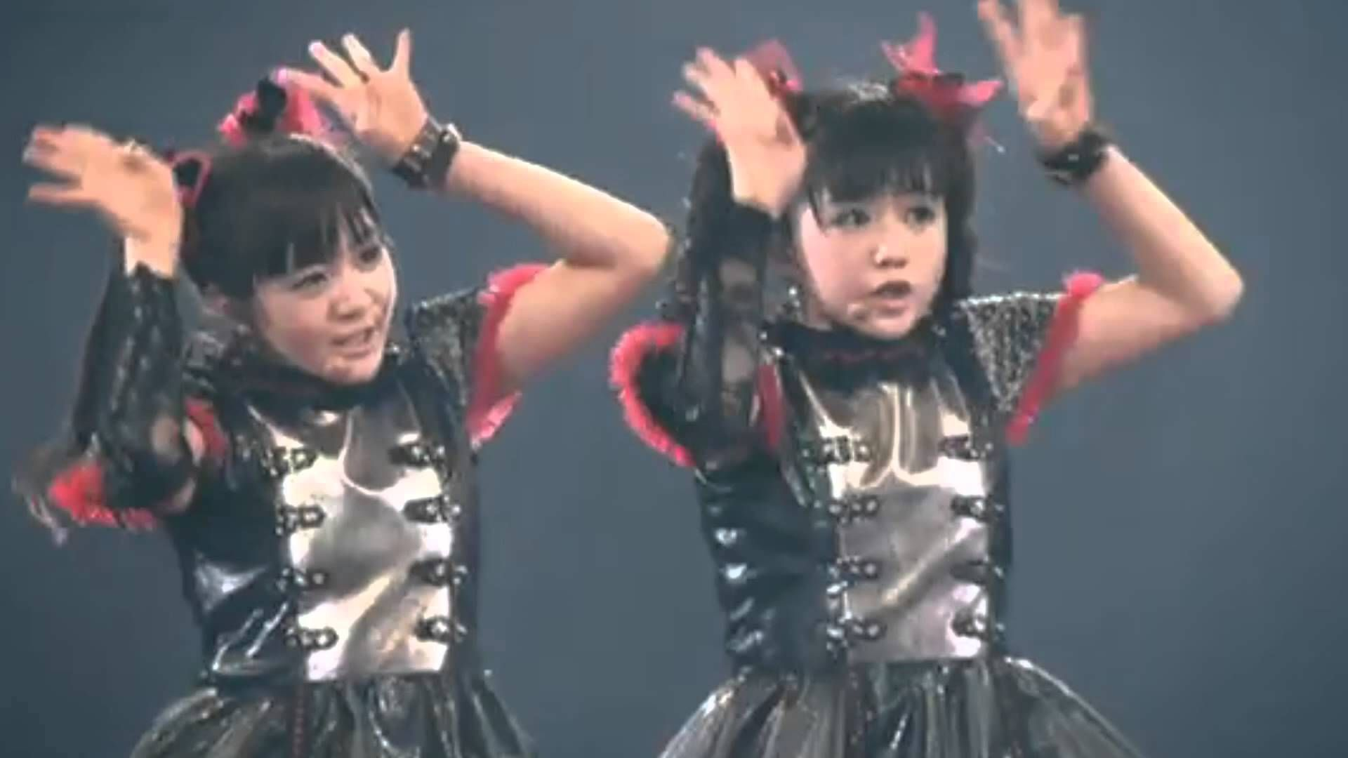 YUIMETAL&MOAMETAL( BLACK BABYMETAL) ~LIVE MOVIE~ BABYMETAL