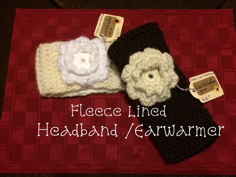 Rainbow MONKEY Headband 100/% Wool Hand Crocheted Fleece Lining Toddler Size Red