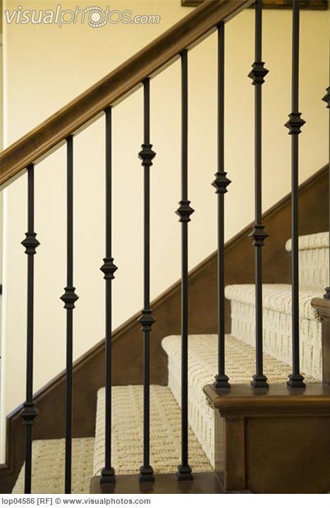 rod iron banisters