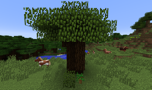 6eb84kkzap3x Png 1920 1080 Minecraft Tree Minecraft Tree