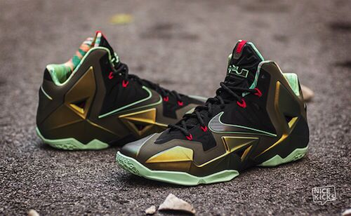 promo code 8b1e3 fb1ea Nike LeBron XI Kings Pride