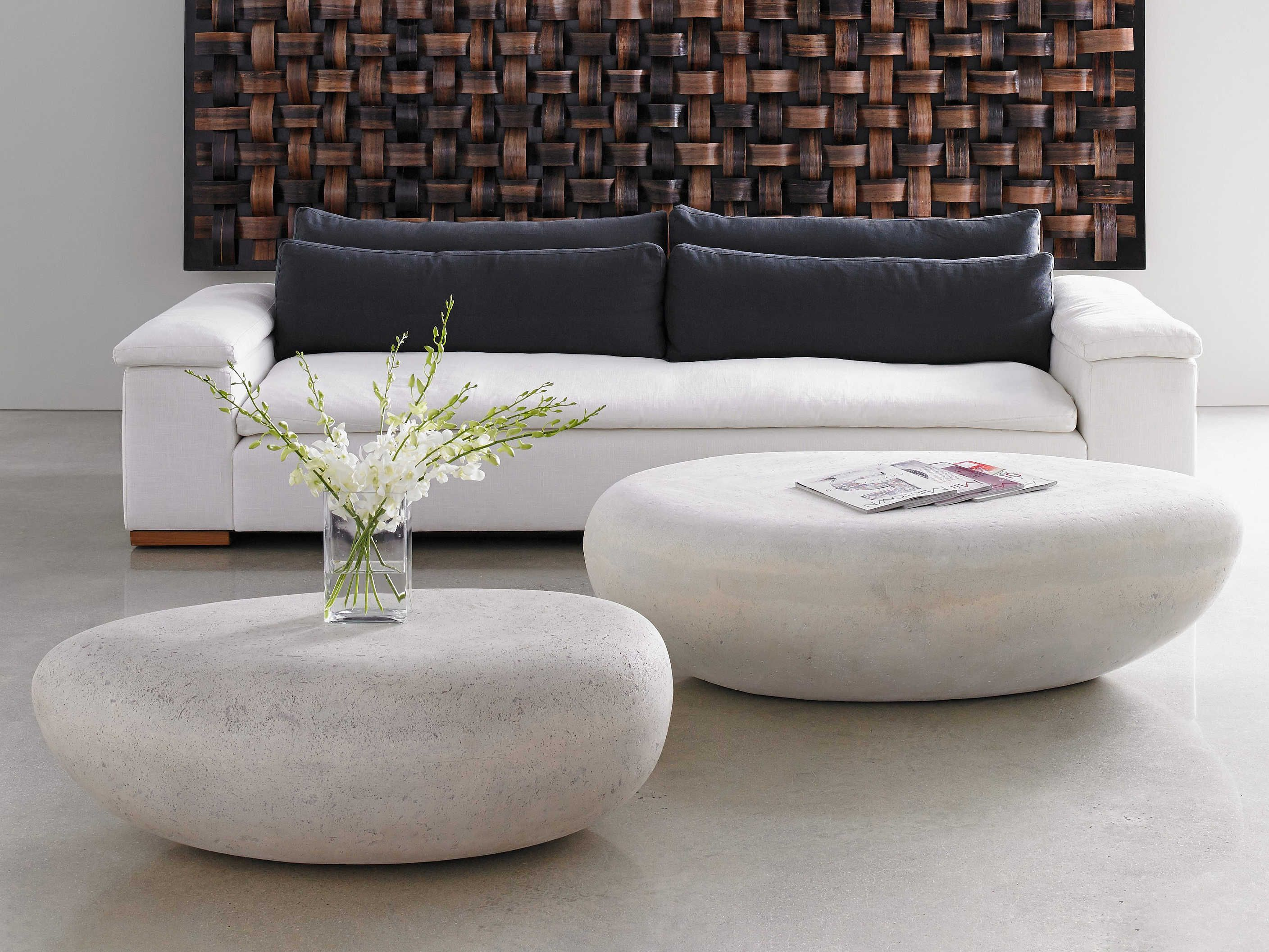 Phillips Collection River Stone Roman 42'' Wide Oval ...