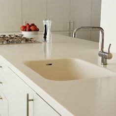 Corian Sink And Countertop (sink Single 871) In Designer White Corian Sink White  (339×354) | Einhorn/Lorenz | Pinterest | Sinks, Kitchens And Countertop
