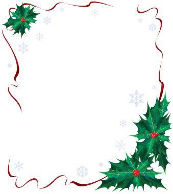 Christmas Borders Clip Art