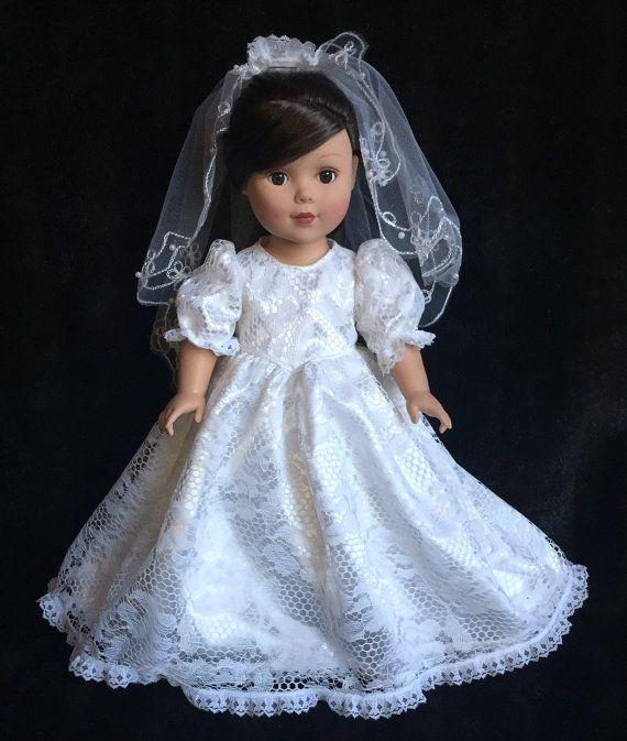 18 in. American Girl Doll 3 piece Communion von DollBabyDesigns1