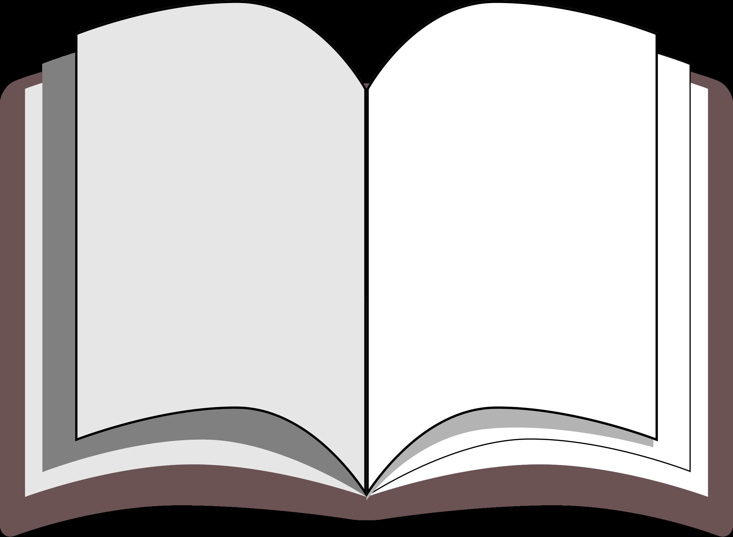 Free Open Book Clipart Public Domain Clip Art