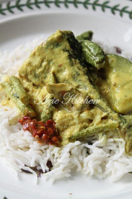 Azie Kitchen Gulai Kuning Nasi Berlauk Kelantan Resep Makanan Resep Seafood Makanan Ikan