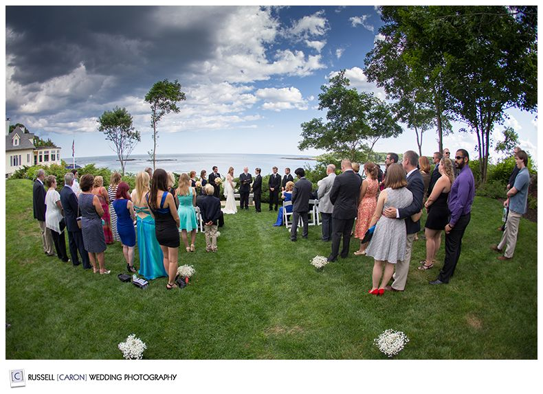 Hartley Mason Reserve Ceremony York Harbor Inn Weddings Rus Caron Wedding Photography