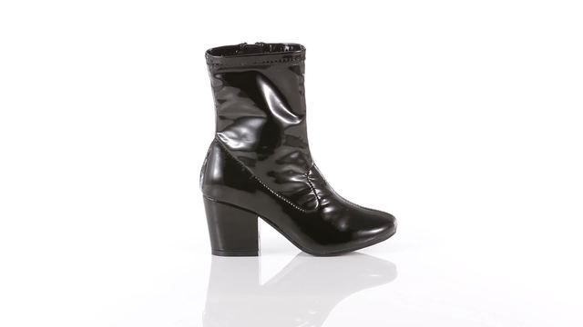 e20c11894be Girls' KJ Black High-Heel Boot - Kmart | Shoes for my girls | Boots ...