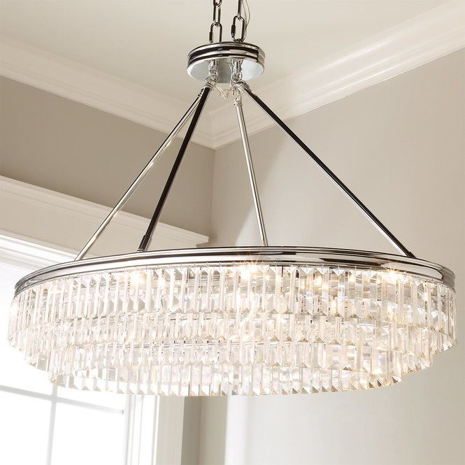 Prism Faceted Glass Layered Island Chandelier Modern Crystal Chandelier Crystal Chandelier Crystal Chandelier Dining Room