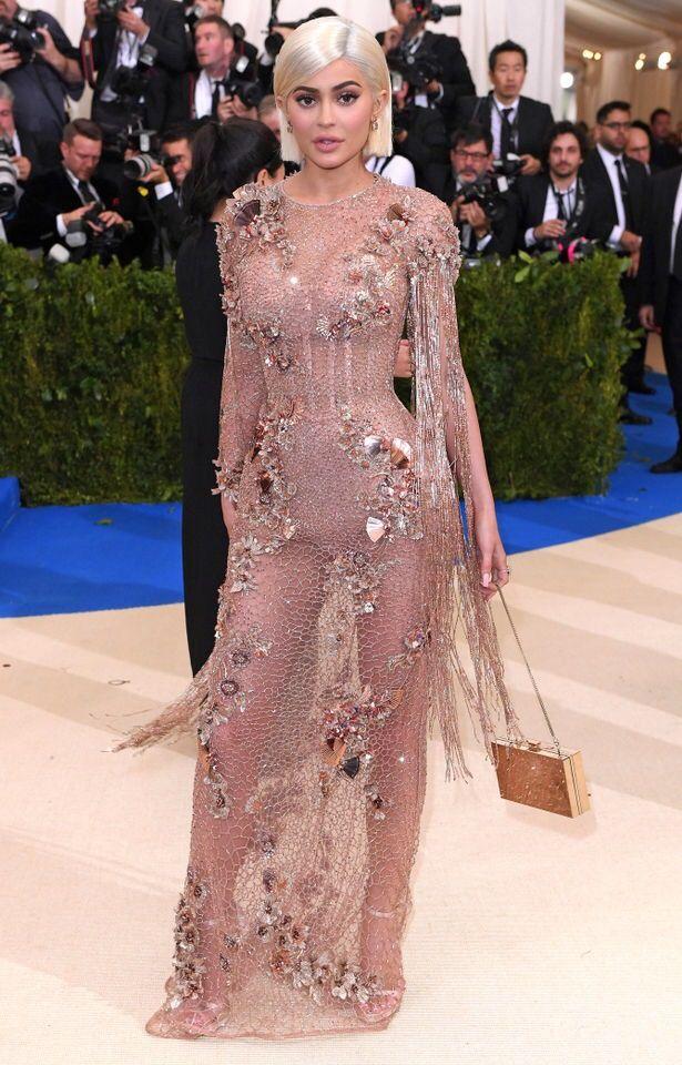 Kylie Jenner Met Gala 2017 Red Carpet Met Gala 2017