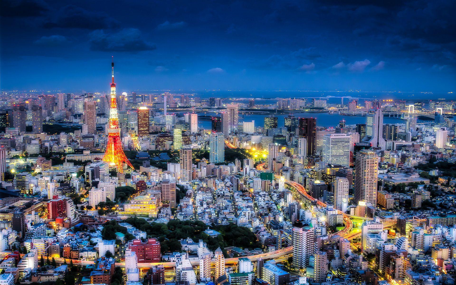 Tokyo Wallpapers Free City Japan Tower Wallpaper Landscape
