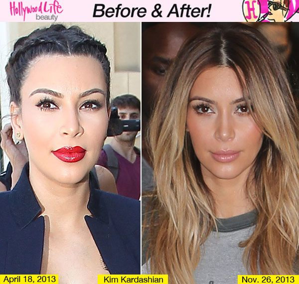 Pics For > Going From Brown To Blonde Before And After ...
