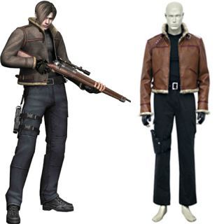 Product Resident Evil 4 Leon S Kennedy Cosplay Costume