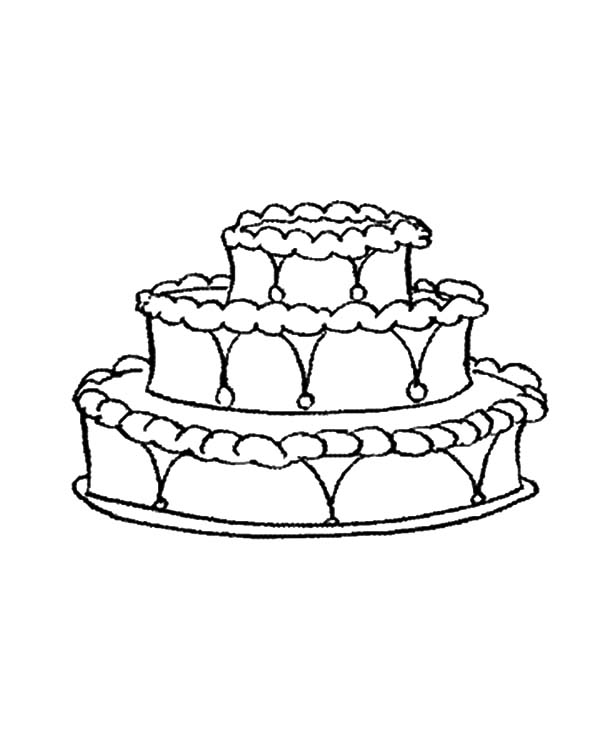pin auf cakes coloring pages