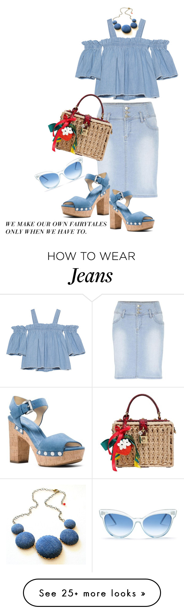 """Heading into the weekend"" by juliehooper on Polyvore featuring SJYP, B.Young, Dolce&Gabbana, MICHAEL Michael Kors and Wildfox"