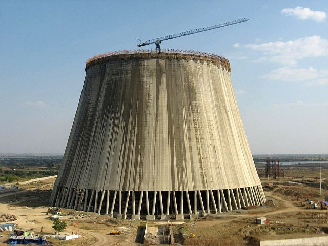 World S Highest Cooling Towers Take Shape