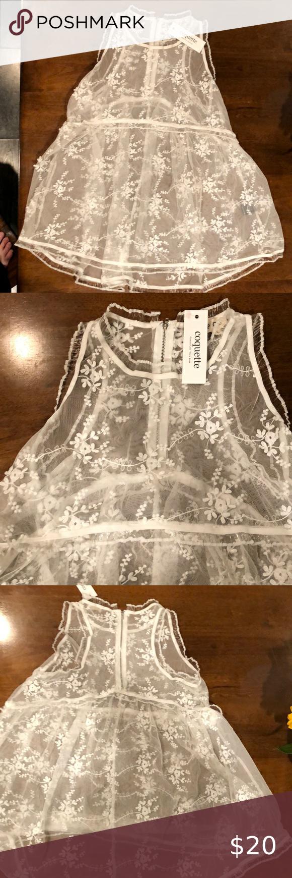 Adorable White Lace Shift Top Lace Top Dress Lace White Lace [ 1740 x 580 Pixel ]