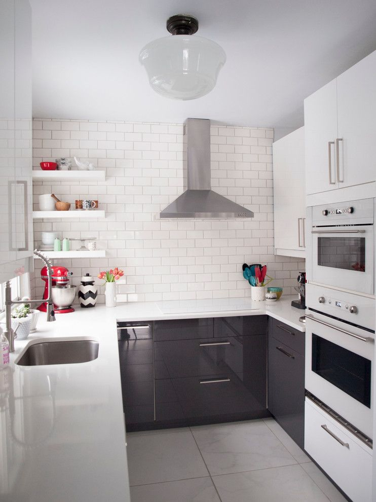 51 kleine Küche schöne Design-Ideen Architektur Pinterest - ikea kleine küchen
