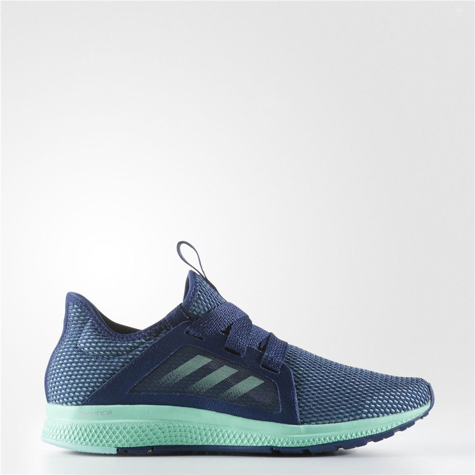 Adidas Edge Lux Shoes (Mystery Blue / Easy Green / Metallic Silver)