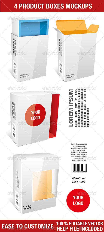 Download Packages Mockup Packaging Mockup Design Box Mockup