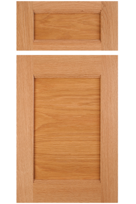 Transitional-Contemporary Combination Frame Cabinet Door in Select