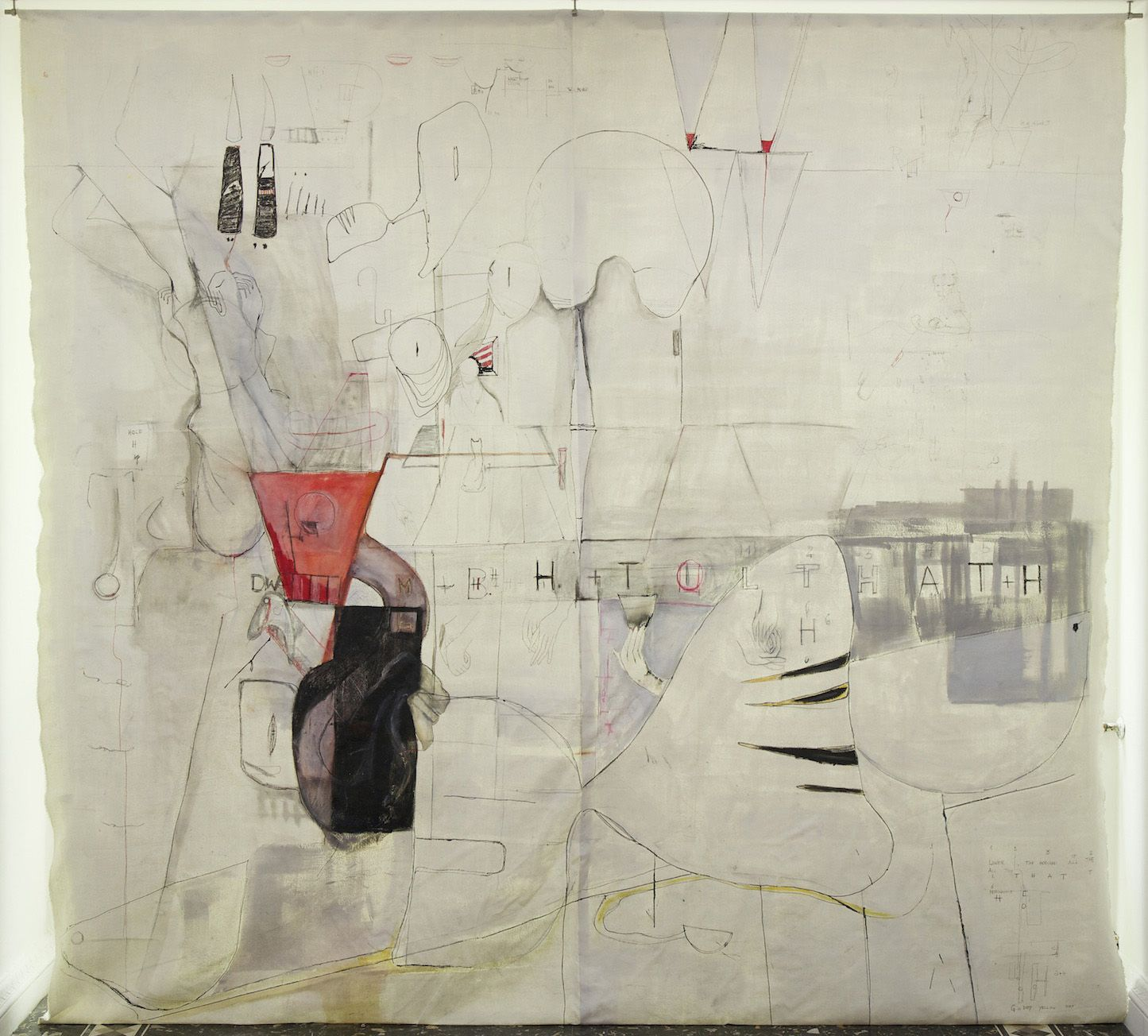 Anne Imhof Exhibitions Carre D Art Art Artwork Drawings