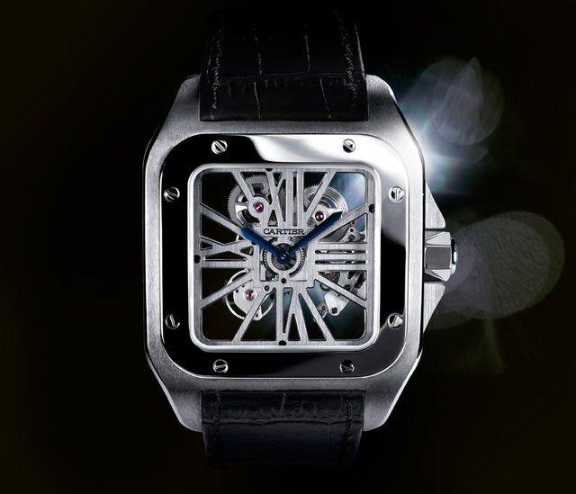 cartier skeleton watch
