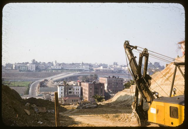 vintage everyday: 35 Superb Vintage Color Photos Show the Urban Landscape of Los Angeles in the 1950s