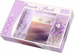 Puzzle 1000 Trefl 10411 Lawendowe Pola Romantic Romantic Puzzles Puzzle Romantic