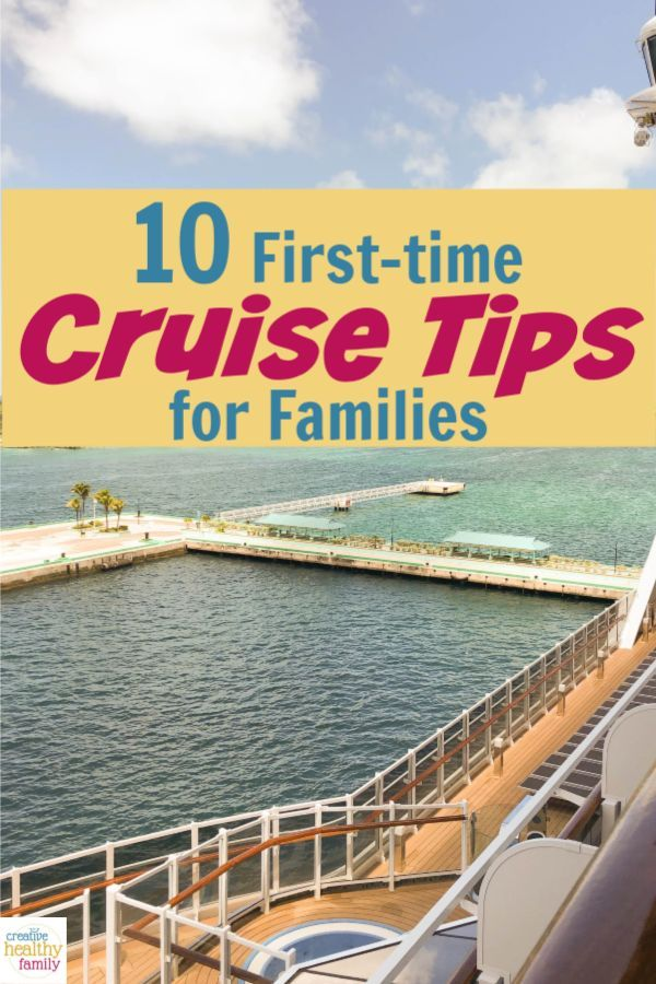 10 First-Time Cruise Tips for Families If you're planning on hitting the high seas for your next getaway, you'll definitely want to check out my first-time cruise tips for families!