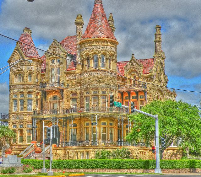 Henna Tattoo Galveston Tx: Designed By A Prominent Architect And Built For A Railroad