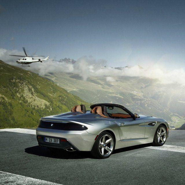 Bmw Z4 Coupe Tuning: BMW Z4 Zagato Concept.