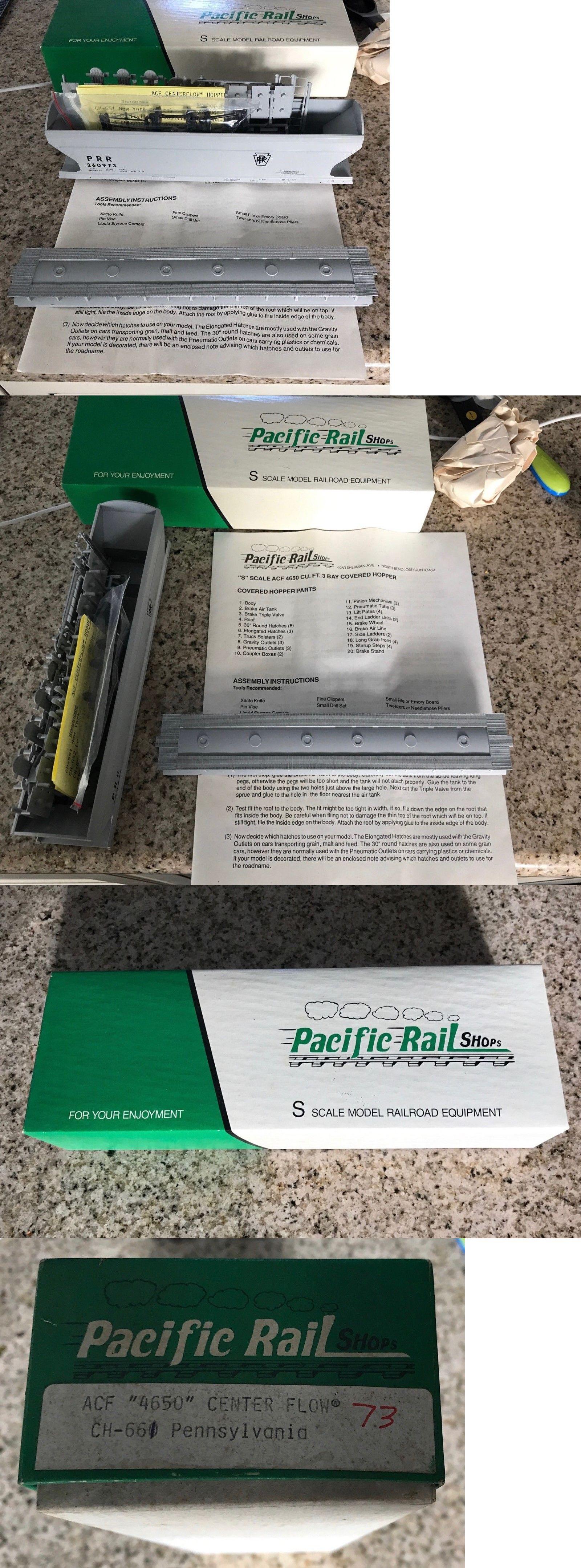 Freight Cars 180286: Pacific Rail Acf 4650 Pennsylvania Center Flow