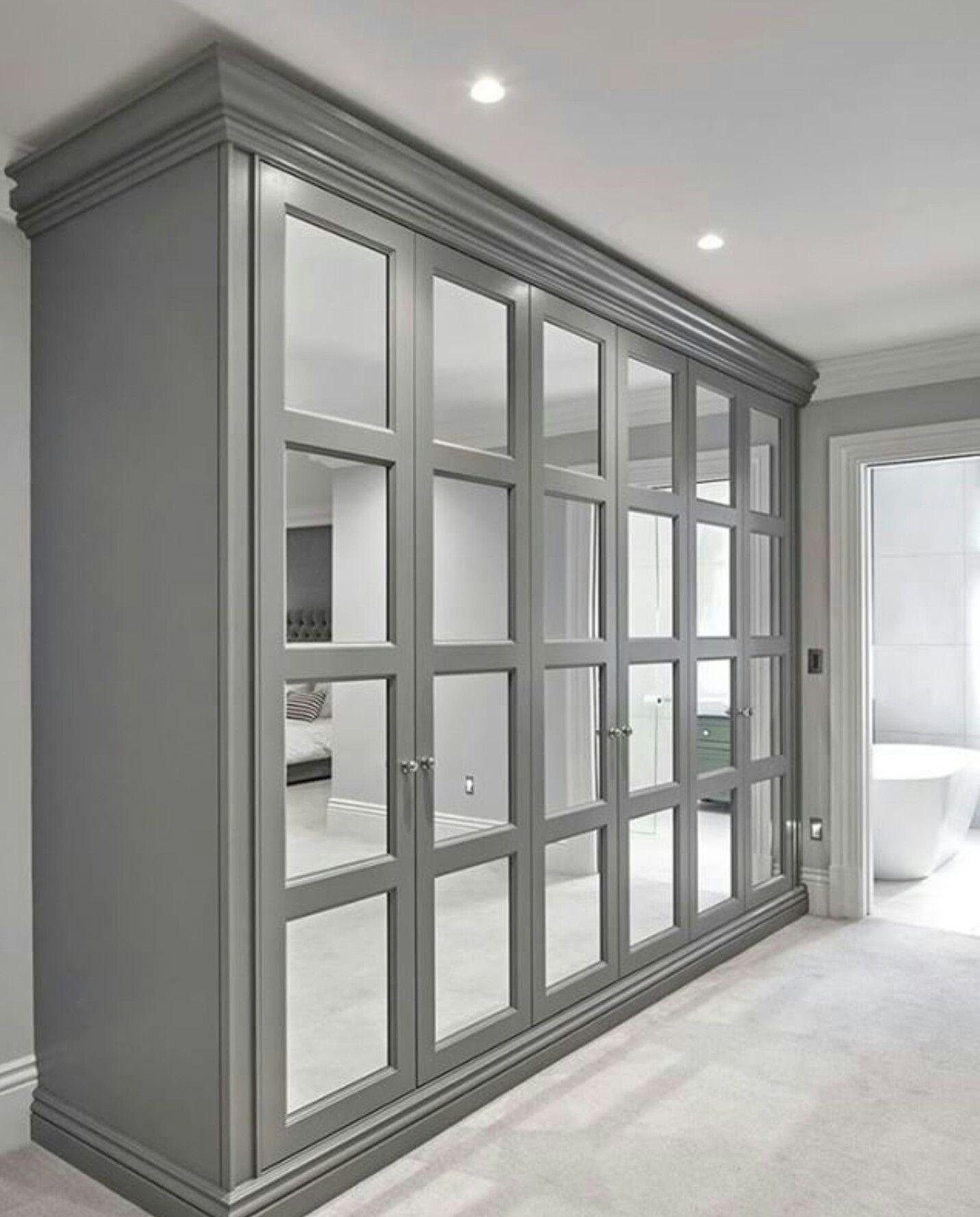 Mirrored Wardrobe Solves 2 Problems More Closet Full Length Mirror Fulham London