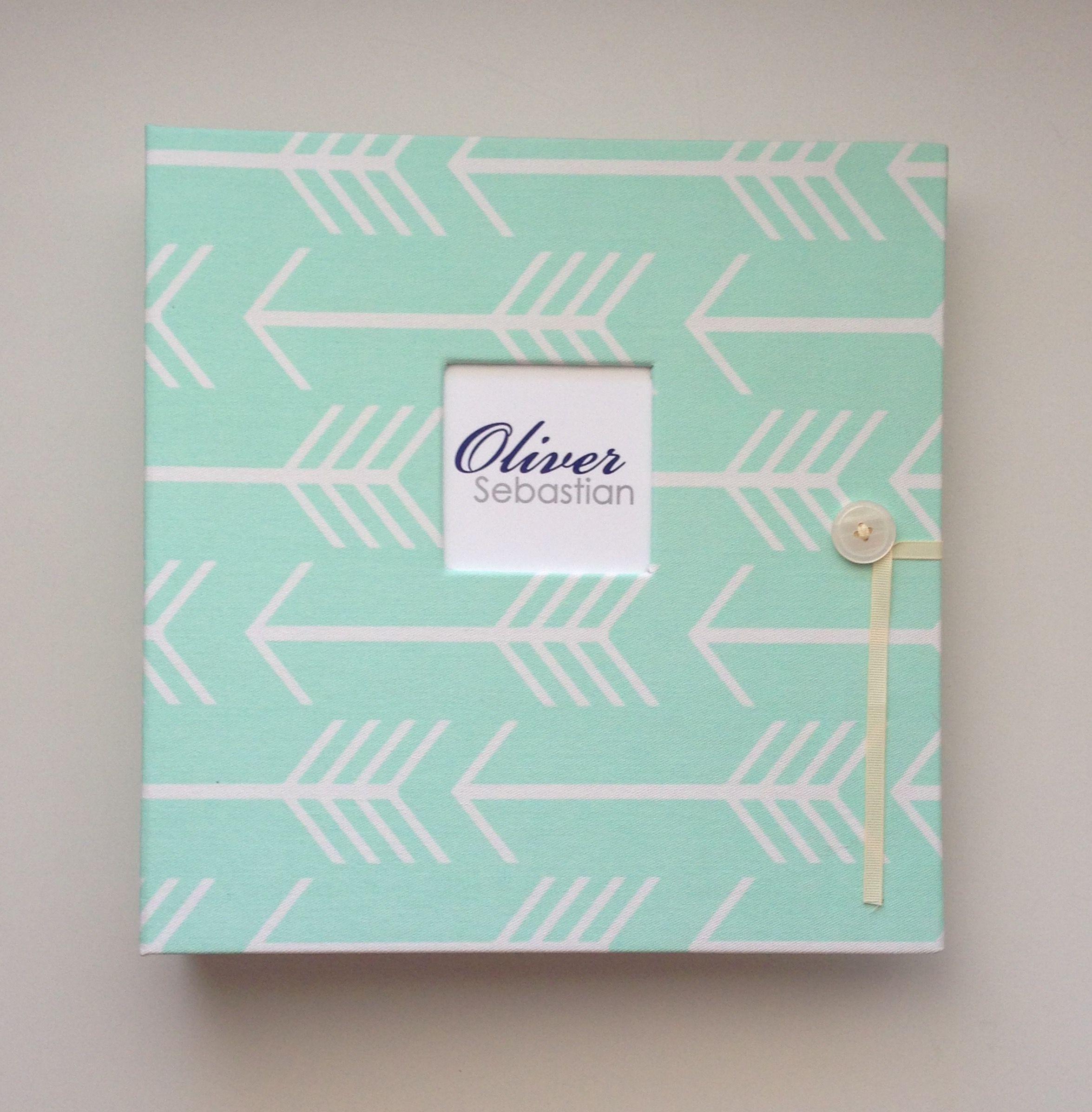 Personalized Mint Arrows Silhouette School Years Album - Pre-K ...