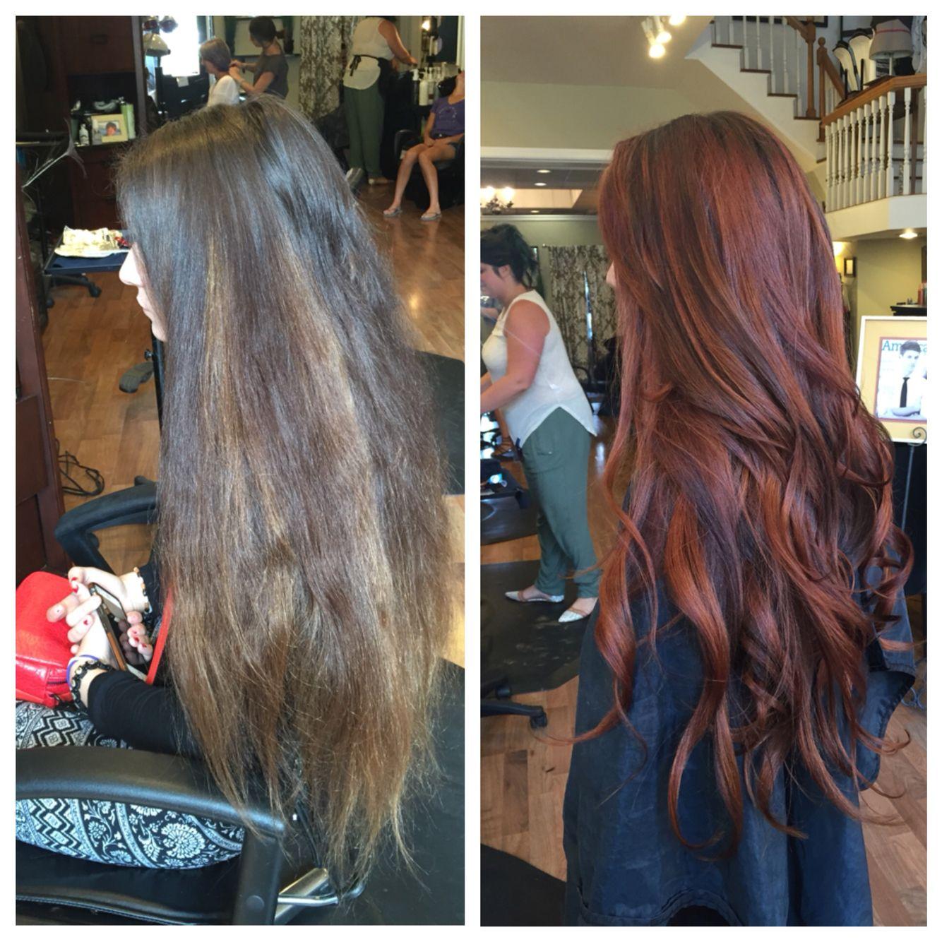 Copper hair!