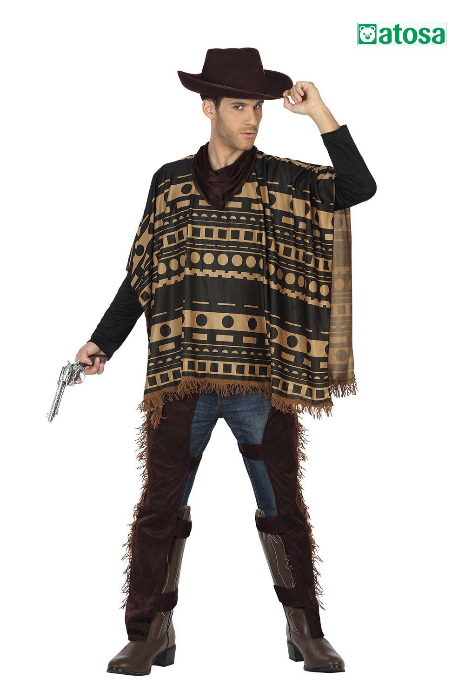 Disfraz de hombre Vaquero, Cowboy en 2020 Disfraces para