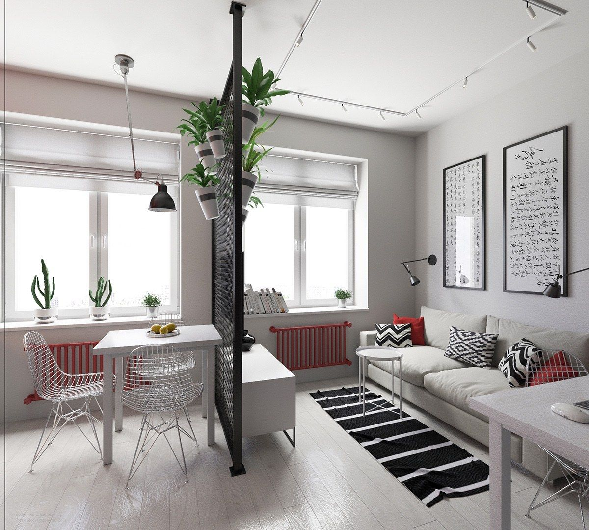 Fashionable small room design