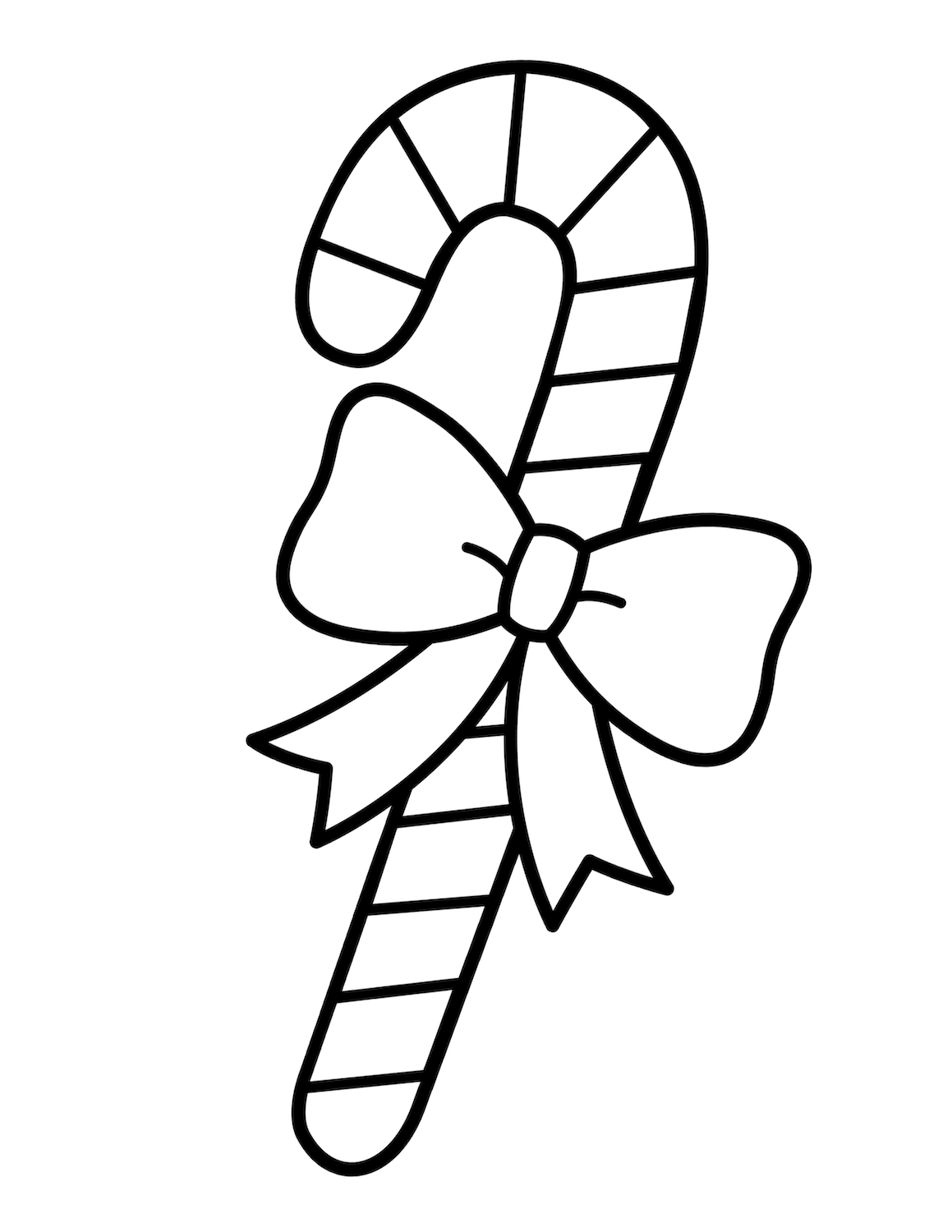 Free Candy Cane Coloring Pages Tons Of Free Christmas Coloring