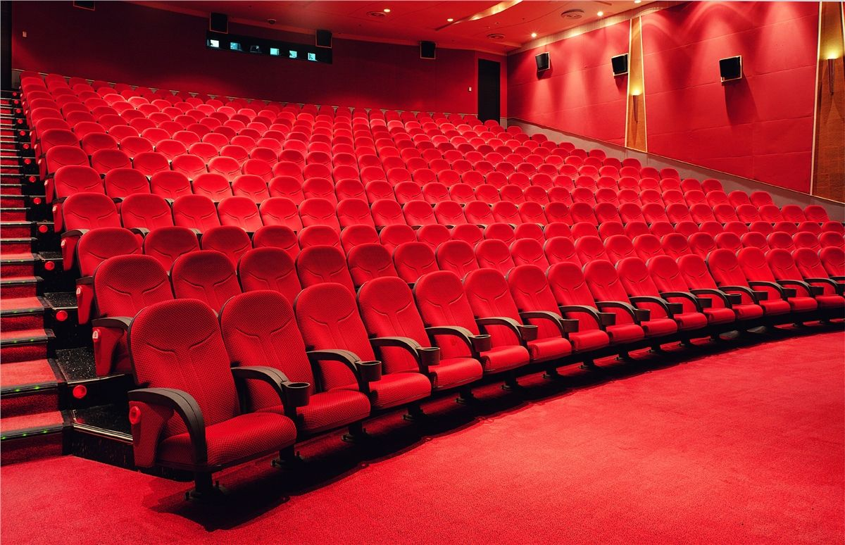 Cinema / Theatre Seating : Cinemas And Theatres Need To Attract Their  Visitors With An Aesthetic Interior.