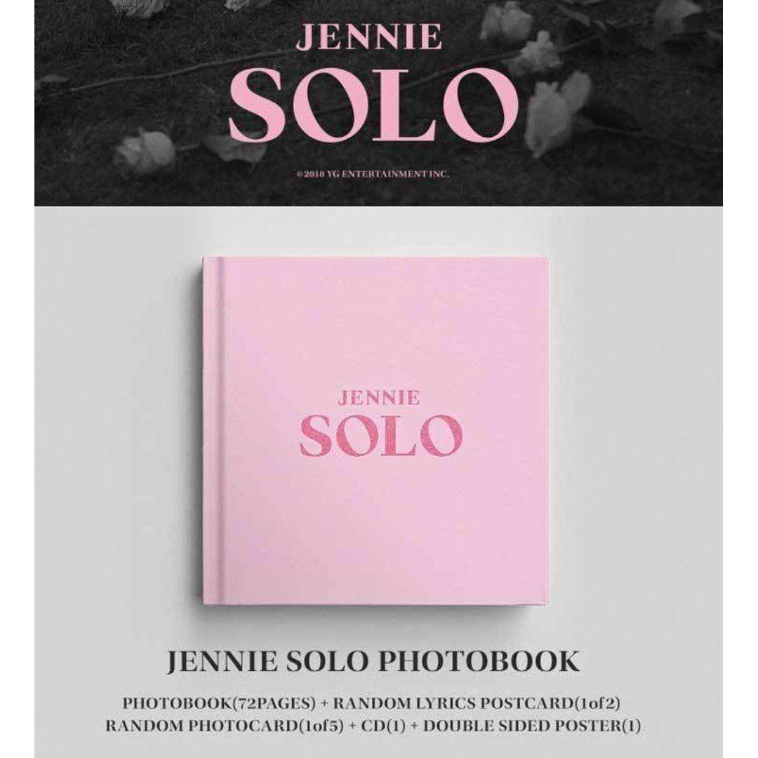 Jennie Solo Album Kpop Album