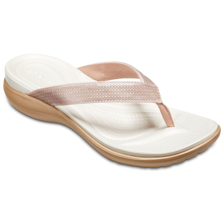 c7b2c7d45556 Crocs Capri V Women s Sequin Sandals
