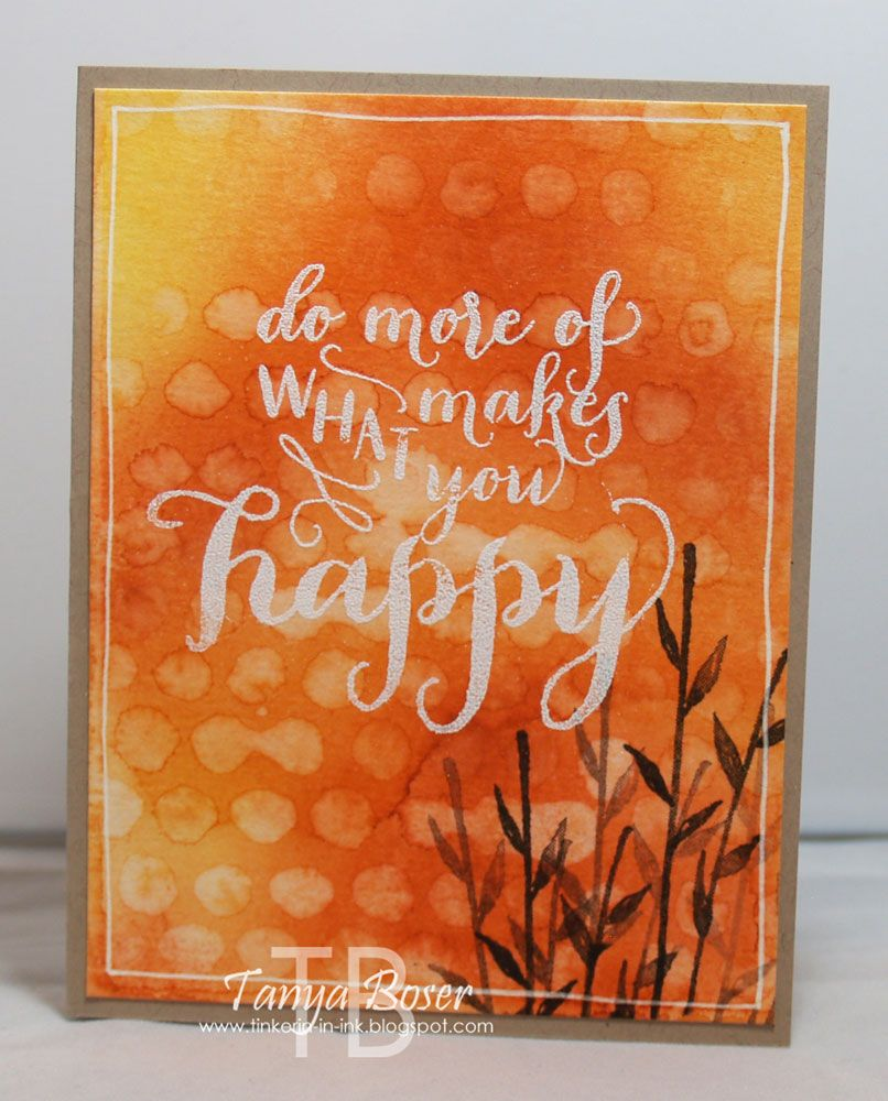 Tinkerin In Ink with Tanya: Stamp Review Crew: Painted Petals Edition