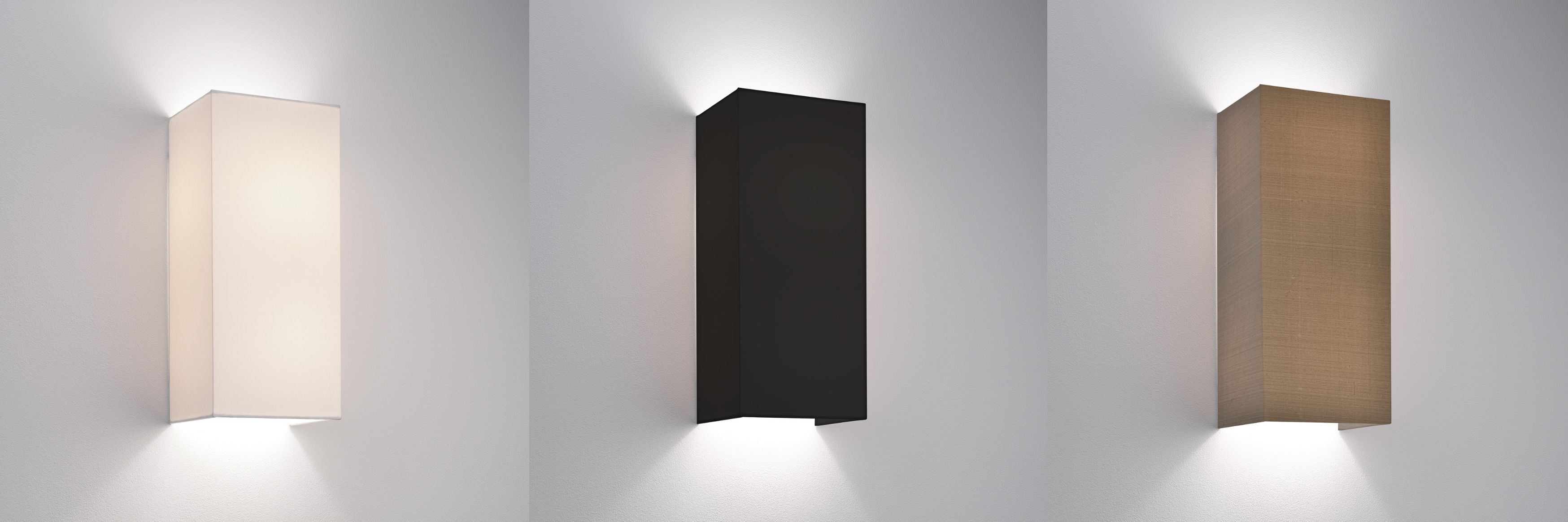 Astro chuo 380 fabric wall light shade 2 x 60w e27 white black astro chuo 380 fabric wall light shade 2 x 60w e27 white black oyster mozeypictures Gallery