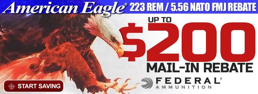 American Eagle Rebate >> American Eagle 223 5 56 Fmj Rebate Guns Guns Stuff To Buy